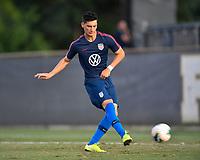 Miami, FL - Tuesday, October 15, 2019:  Sebastian Soto #9 during a friendly match between the USMNT U-23 and El Salvador at FIU Soccer Stadium.