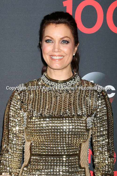 """LOS ANGELES - APR 8:  Bellamy Young at the """"Scandal"""" 100th Show Party at Fig & Olive Resturant on April 8, 2017 in West Hollywood, CA"""