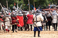 Medieval Knights Battle at Vitkov Hill
