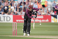 Tom Banton of Somerset CCC pushes into the on side for a single during Essex Eagles vs Somerset, Vitality Blast T20 Cricket at The Cloudfm County Ground on 7th August 2019