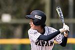 #17 Tanaka Shiori of Japan bats during the BFA Women's Baseball Asian Cup match between Japan and India at Sai Tso Wan Recreation Ground on September 6, 2017 in Hong Kong. Photo by Marcio Rodrigo Machado / Power Sport Images