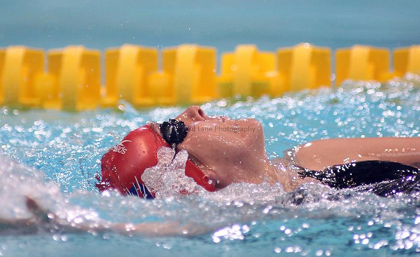 Photo: Paul Thomas..VISA Paralympic World Cup 2007. Swimming. 12/05/2007...Fran Williamson of Great Britain.