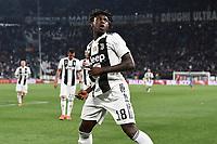 Moise Kean of Juventus celebrates after scoring the goal of 1-0 <br /> Torino 30-03-2019 Allianz Stadium <br /> Football Serie A 2018/2019 Juventus - Empoli <br /> Photo  Daniele Buffa / Image Sport / Insidefoto