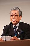 Tsunekazu Takeda, MARCH 5, 2013 : Japanese Olympic Committee (JOC) President Tsunekazu Takeda attends a press conference about presentations of Tokyo 2020 bid Committee in Tokyo, Japan. (Photo by Yusuke Nakanishi/AFLO SPORT) [1090].