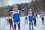 30k Classical races during the U.S. National Cross Country Ski Championships at Kincaid Park in Anchorage, Alaska Sunday, January 7, 2018