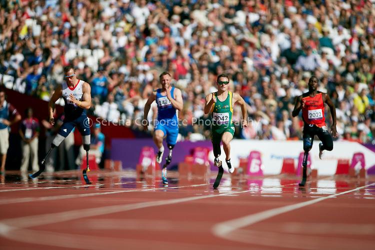 London Paralympic Games - Athletics 7.9.12