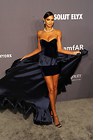 NEW YORK, NY - FEBRUARY 6: Lais Ribeiro arriving at the 21st annual amfAR Gala New York benefit for AIDS research during New York Fashion Week at Cipriani Wall Street in New York City on February 6, 2019. <br /> CAP/MPI/JP<br /> ©JP/MPI/Capital Pictures