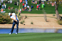 Martin Kaymer (GER) on the 15th during the 2nd round of the Waste Management Phoenix Open, TPC Scottsdale, Scottsdale, Arisona, USA. 01/02/2019.<br /> Picture Fran Caffrey / Golffile.ie<br /> <br /> All photo usage must carry mandatory copyright credit (© Golffile | Fran Caffrey)