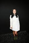 Singer Telana Backstage atZang Toi Spring 2014 Fashion Show Held During Mercedes Benz Fashion Week NY