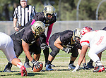 Palos Verdes, CA 10/21/16 - Gabor Nemeth (Peninsula #72) in action during the CIF Southern Section Bay League Redondo Union - Palos Verdes Peninsula game at Peninsula High School.