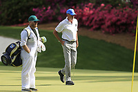 Matt Kucher (USA) on the 13th green during the 1st round at the The Masters , Augusta National, Augusta, Georgia, USA. 11/04/2019.<br /> Picture Fran Caffrey / Golffile.ie<br /> <br /> All photo usage must carry mandatory copyright credit (&copy; Golffile | Fran Caffrey)