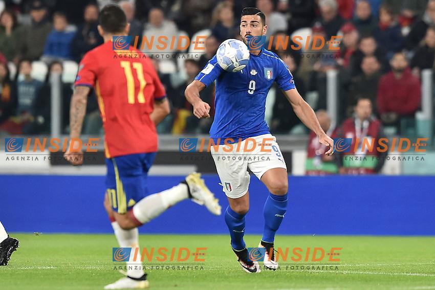 Vitolo Spain, Graziano Pelle' Italia <br /> Torino 06-10-2016 Juventus Stadium <br /> World Cup Qualifiers Italy - Spain / Italia - Spagna. Foto Andrea Staccioli / Insidefoto