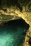Israel, Galilee Coastal Plain, the grottos at Rosh Hanikra