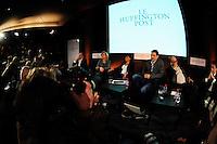 Parigi 23/1/2012 .Presentazione della versione francese del sito Huffington Post.Foto Insidefoto / Anthony Ghnassia / Panoramic