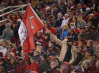NWA Democrat-Gazette/BEN GOFF @NWABENGOFF<br /> Arkansas vs LSU football on Saturday Nov. 12, 2016 at Razorback Stadium in Fayetteville.