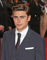 LONDON - APRIL 23: Zac Efron attends the European Film Premiere of 'The Lucky One' at The Bluebird Restaurant & Bar, King's Road, Chelsea, London, UK. April 23, 2012. (Photo by Richard Goldschmidt)