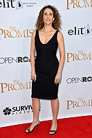 Melina Kanakaredes at the premiere for &quot;The Promise&quot; at the TCL Chinese Theatre, Hollywood. Los Angeles, USA 12 April  2017<br /> Picture: Paul Smith/Featureflash/SilverHub 0208 004 5359 sales@silverhubmedia.com