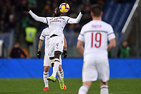 Tiemque Bakayoko of AC Milan in action during the Serie A 2018/2019 football match between AS Roma and AC Milan at stadio Olimpico, Roma, February 3, 2019 <br />  Foto Andrea Staccioli / Insidefoto