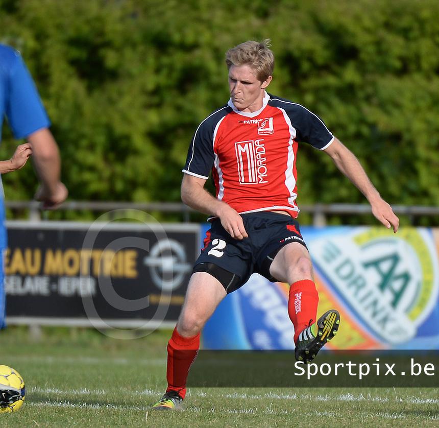 KVK Avelgem : Arend Callewaert<br /> Foto VDB / Bart Vandenbroucke