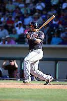 Michael Choice - Cleveland Indians 2016 spring training (Bill Mitchell)