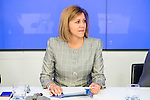 Maria Dolores de Cospedal during the meeting with the national executive committee of Partido Popular at Genova in Madrid. May 03, 2016. (ALTERPHOTOS/Borja B.Hojas)