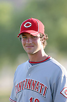 Kyle Lotzkar - AZL Reds - 2010 Arizona League. Photo by:  Bill Mitchell/Four Seam Images..