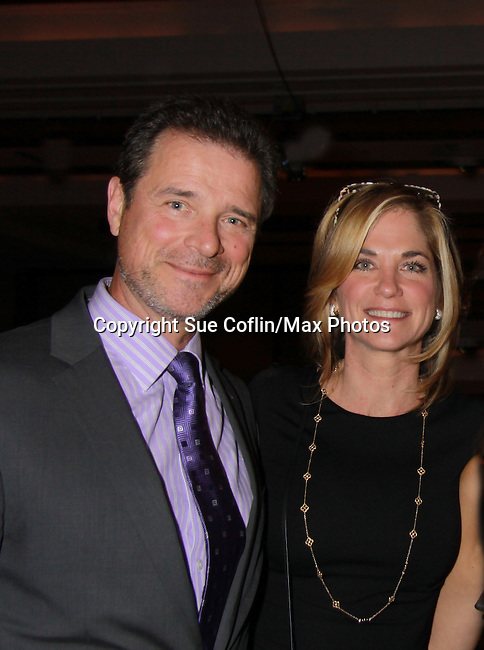 One Life To Live James and Kassie DePaiva - OLTL at 18th Annual Feast to benefit Center for Hearing and Communications (CHC) on October 24, 2011 at Chelsea Pier 60, New York City, New York.  (Photo by Sue Coflin/Max Photos)