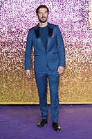 "LONDON, UK. October 23, 2018: Gwilym Lee at the world premiere of ""Bohemian Rhapsody"" at Wembley Arena, London.<br /> Picture: Steve Vas/Featureflash"