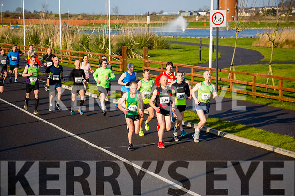 Pat Dunworth, Tommy O'Brien, Danny Murphy, Derek Griffin, Donal O'Callaghan, participants in the Kerry's Eye Valentines Weekend 10 mile road race on Sunday.