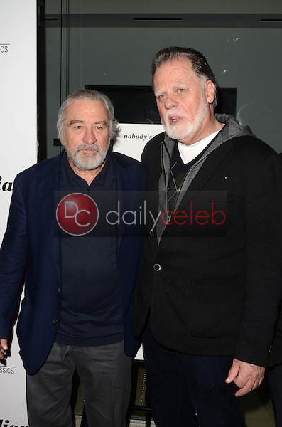 "Robert De Niro, Taylor Hackford<br /> at ""The Comedian"" Los Angeles Premiere, Pacific Design Center, West Hollywood, CA 01-27-17<br /> David Edwards/DailyCeleb.com 818-249-4998"
