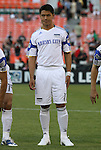 05 May 2010: Kansas City's Roger Espinoza (HON). DC United defeated the Kansas City Wizards 2-1 at RFK Stadium in Washington, DC in a regular season Major League Soccer game.