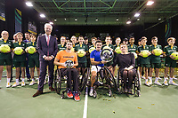 Rotterdam, The Netherlands, 14 Februari 2019, ABNAMRO World Tennis Tournament, Ahoy, Wheelchair, Final, Stephane Houdet (FRA) winner vs. Joachim Gerard (BEL),<br /> Photo: www.tennisimages.com/Henk Koster