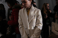 NEW YORK - FEB 4: A Pamela Roland show at Fashionweek at Bryant Park, 2008. (Photo by Landon Nordeman)
