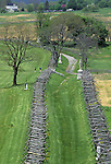 Bloody Lane, scene of fierce fighting on September 17, 1862, Antietam National Battlefield, Sharpsburg, Maryland, USA