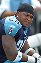 LENDALE WHITE, of the Tennessee Titans , in action during the Titans games against the Tampa Bay Buccaneers , in Tampa Bay, FL on October 14, 2007.  ..The Buccaneers won the game 13-10...COPYRIGHT / SPORTPICS..........