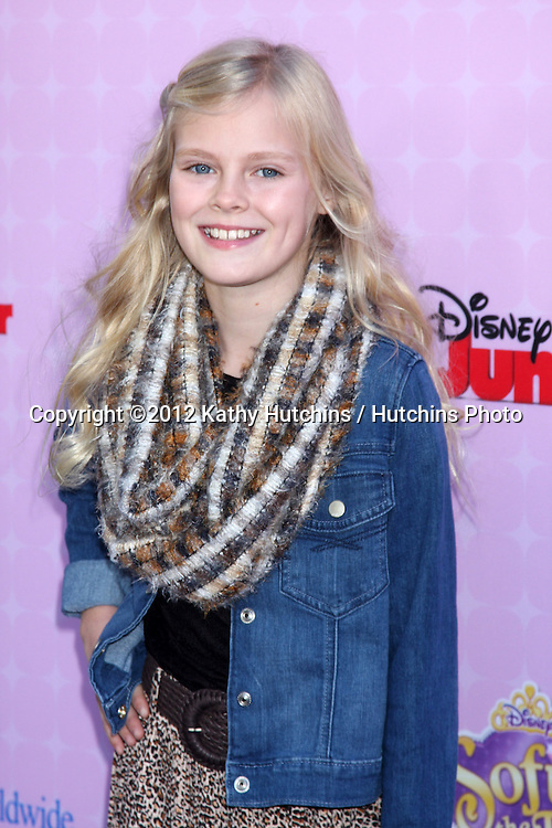 """LOS ANGELES - NOV 10:  Harley Graham arrives at the """"Sofia The First: Once Upon a Princess"""" Premiere And Story Book Launch at Walt Disney Studios on November 10, 2012 in Burbank, CA"""