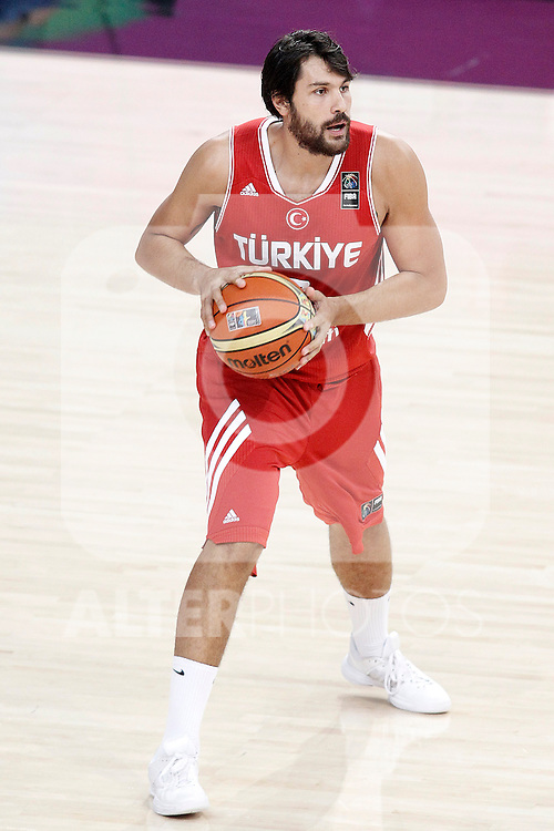 Turkey's Cenk Akyol during 2014 FIBA Basketball World Cup Quarter-Finals match.September 9,2014.(ALTERPHOTOS/Acero)