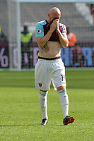 James Collins of West Ham during West Ham United vs Everton, Premier League Football at The London Stadium on 13th May 2018