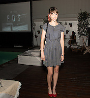 Tracy Antonopoulos attends the Gia Coppola & Peroni Grazie Cinema Series Cocktail Reception at Skybar at the Mondrian on July 28, 2015 (Photo by Inae Bloom/Guest of a Guest)