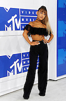 NEW YORK, NY - AUGUST 28  Ariana Grande attend the 2016 MTV Video Music Awards at Madison Square Garden on August 28, 2016 in New York City Credit John Palmer / MediaPunch