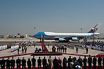 Welcoming ceremony for US President Barack Obama, Ben Gurion airport, central Israel.