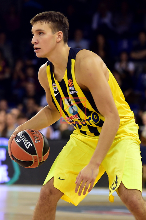 Turkish Airlines Euroleague 2016/2017.<br /> Regular Season - Round 2.<br /> FC Barcelona Lassa vs Fenerbahce Istanbul: 72-73.<br /> Bogdan Bogdanovic.