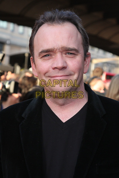 TODD CARTY .Attending the World Premiere of  'The Infidel' at the Hammersmith Apollo, London, England, UK, April 8th 2010.arrivals portrait headshot black v-neck .CAP/ROS.©Steve Ross/Capital Pictures.