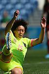 Megumi Takase (JPN), <br /> MARCH 6, 2015 - Football / Soccer : <br /> Algarve Women's Football Cup 2015 Group C match <br /> between Japan 3-0 Portugal <br /> at Algarve Stadium in Faro, Portugal. <br /> (Photo by YUTAKA/AFLO SPORT)[1040]