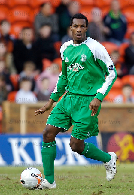 Shelton Martis, Hibs.stock season 2006-2007.pic willie vass