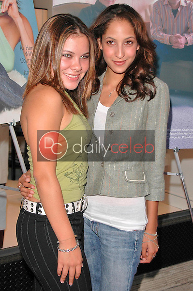 Asia Smith and Christel Khalil