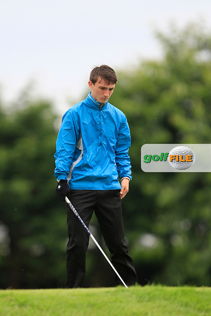 Sean Doyle (Athlone) on the 6th tee during Round 3 of the Irish Boys Amateur Open Championship at Thurles Golf Club on Thursday 26th June 2014.<br /> Picture:  Thos Caffrey / www.golffile.ie