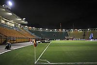 SÃO PAULO,SP,27 FEVEREIRO 2013 - COPA LIBERTADORES AMÉRICA 2013 - CORINTHIANS (Bra) x MILLONARIOS (Col) - Vista do Estadio do Pacaembu  antes  partida Corinthians x Millonarios válido pela 2º rodada da Copa Libertadore América 2013 ) na noite desta quarta feira (27).FOTO ALE VIANNA - BRAZIL PHOTO PRESS.