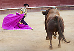 Primera corrida de abono de la Feria de Julio de Valencia 2013.<br /> Finito de Cordoba, Juan Jose Padilla e Ivan Fandi&ntilde;o con toros de Las Ramblas.<br /> 24 de julio de 2013 - Valencia (Espa&ntilde;a)