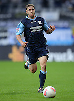 Fussball 2. Bundesliga:  Saison   2012/2013,    4. Spieltag  TSV 1860 Muenchen - MSV Duisburg    31.08.2012 Moritz Volz (1860 Muenchen)